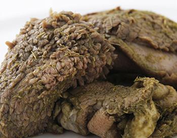 Grüner Pansen in Bioqualität